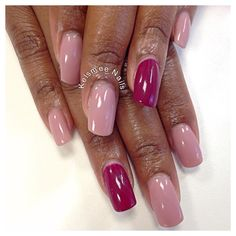 Young Nails acrylic ManiQ overlay