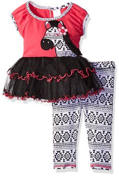 AIKSSOO 4Pcs Infant Baby Christmas Outfit Set Onesie+Tutu+Leg Warmer+Headband