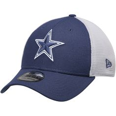 5959ebd900df0 Men s Dallas Cowboys New Era Navy Gray Two-Tone Sided 39THIRTY Flex Hat