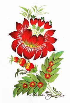 petrykivka painting - Google Search