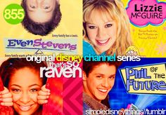 These were the shows i watched on disney channel. LIZZIE all the way! Love the movie too!