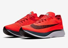 Official Look At The Upcoming Nike Zoom VaporFly 4% Bright Crimson