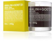 Malin+Goetz Dark Rum Candle at Barneys New York