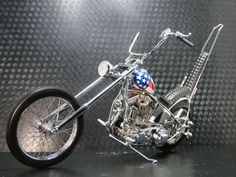 Harley Davidson Motorcycle 1969 Easy Rider Movie Captain The usa Chopper Model 1 | Toys & Hobbies, Diecast & Toy Vehicles, Motorbikes & ATVs | amazon! #harleydavidsoncustombaggers #harleydavidsoncustomdyna #harleydavidsoncustomsportster #harleydavidsoncustomchopper #harleydavidsoncustomsoftail #harleydavidsoncustommotorcycles Harley Davidson Chopper, Vintage Harley Davidson, Harley Davidson Motorcycles, Harley Davidson Posters, Antique Motorcycles, Motorcycles For Sale, Custom Motorcycles, Easy Rider, Bobber Motorcycle