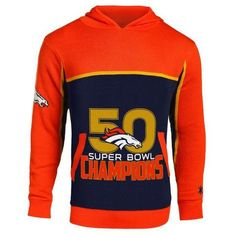 Majestic NFL Denver Broncos Super Bowl 50 Champions Official ...