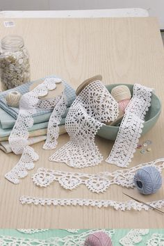 Have you ever completed a thread crochet project and thought something was missing? Or, have you planned to make a project you found online or in your favorite magazine, but felt something was needed                                                                                                                                                                                  More