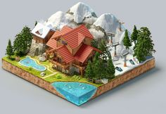 Puzzle on Behance