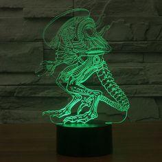 3D Alien vs Predator Night Light Lamp - LED Lamp