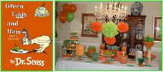 Green Eggs and Ham Party