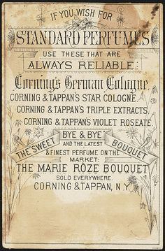 Corning's German Cologne [back] | by Boston Public Library