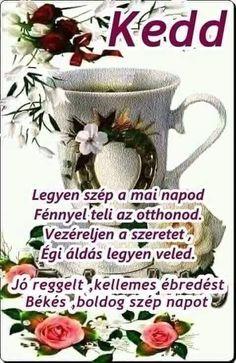Good Morning, Mugs, Tableware, Facebook, Buen Dia, Dinnerware, Bonjour, Tumblers, Tablewares