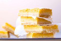 Passion Fruit Lemon Bars | The Seaside Baker
