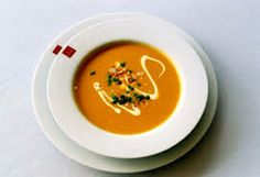 Parmigiano Pumpkin Soup With Frizzled Prosciutto. http://www.food.com/recipe/parmigiano-pumpkin-soup-with-frizzled-prosciutto-437485