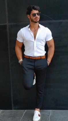 10 Best Casual Shirts For Men That Look Great! – [pin_pinter_full_name] 10 Best Casual Shirts For Men That Look Great! 10 Best Casual Shirts For Men That Look Great! Mode Masculine, Best Casual Shirts, Mode Man, Formal Men Outfit, Stylish Mens Outfits, Cool Outfits For Men, Summer Outfits Men, Spring Outfits, Herren Outfit