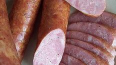 Polish Hot Smoked Sausage consists of pork, salt, pepper, garlic and optional marjoram. This is the hot smoked version known all over the world which is much easier and faster to make than the cold smoked version that was more popular in the past. Pellet Grill Recipes, Grilling Recipes, Pork Recipes, Cooking Recipes, Smoker Recipes, Smoked Kielbasa Recipe, Smoked Ham, Smoked Sausages, Homemade Summer Sausage
