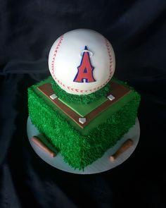 Anaheim Angels cake