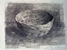 Safet ZEC, Cesto, 2006, pencil, mm 320 x 410 (paper).