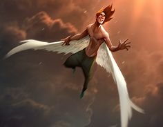 """Check out new work on my @Behance portfolio: """"angel 2d"""" http://be.net/gallery/46974729/angel-2d"""
