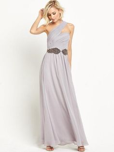 fedae63c39fa Little Mistress One Shoulder Maxi Dress   very.co.uk Holiday Dresses, Summer