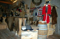 Actual picture of the trade store at Fort Benton!
