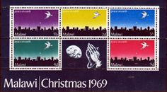 Malawi 1969 Christmas Miniature Sheet Fine Mint SG MS344 Scott 126a Other Commonwealth stamps here