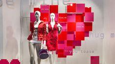 Valentines inspiration - Visual Citi Window Displays Image