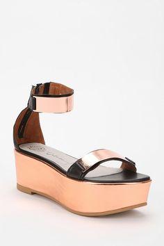 Jeffrey Campbell Lars Flatform Sandal  #UrbanOutfitters