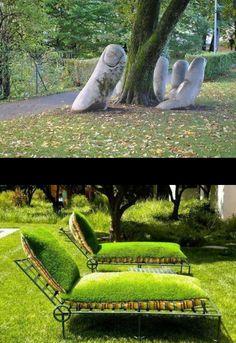 Jardinería creativa