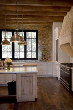 BKC Kitchen And Bath   Crystal Cabinet Works, Country French Door Style,  Bisque Paint With Van Dyke Brown Highlight. | Traditional Kitchens |  Pinterest ...