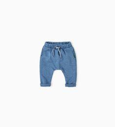 Image 1 de Pantalon en molleton de Zara