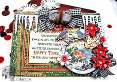 St. Nicholas Gift Box, Shaker Card & Ornament #graphic45 #stnicholas #cards #ornament