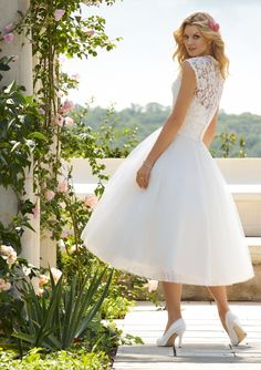VOYAGE By Mori Lee Style 6749    soooo pretty! (also avail in full length w/ sweep train)