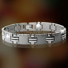 Steel Or Titanium Mens Jewelry OATB0035 Model Number     OATB0035 Jewelry Type     Bracelets, Bangles Place of Origin     Guangdong, China (Mainland) Brand Name     OA Bracelets or Bangles Type     Chain & Link Bracelets Jewelry Main Material     Stainless Steel Main Stone     Zircon Occasion     Anniversary, Gift, Party, Other Gender     Men's, Unisex, Women's metal     stainless steel or titanium