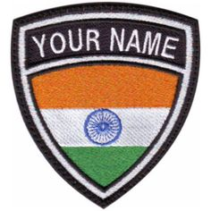 INDIA-CUSTOM-FLAG-NAME-EMBROIDERED-SEW-ON-PATCH