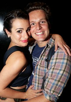 Lea and Jonathan at the Diamond Horseshoe/The Paramount Hotel Bar & Grill (September 6, 2015)