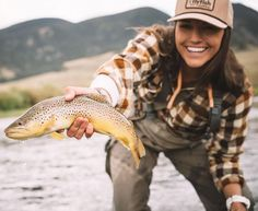 "traveled a few different ways, and the best has always been when I've left some loose ends."" If you haven't seen her 'round these parts before, join us in welcoming pro fly fishing guide to the squad! Trout Fishing Tips, Fishing Guide, Best Fishing, Saltwater Fishing, Kayak Fishing, Fishing Tricks, Ice Fishing, Fishing Rods, Alaska Fishing"