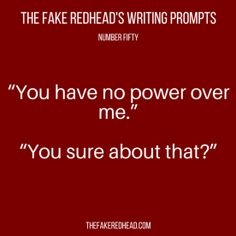 TFR's Writing Prompt 50