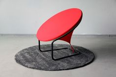 Strikingly Stretched Seating Solutions - The 'Red Dot' Chair Creates an Undulating Effect (GALLERY)