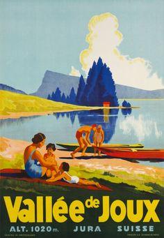 Vallée de Joux Jura 1930
