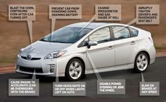 Cars can be hacked!  Read more at http://techsquad.ca/2013/08/07/cars-hacked/