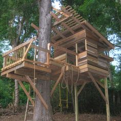 Kids Tree House Design Ideas, Pictures, Remodel, and Decor - page 10