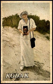 """Pocket Catalog, no date. c. 1914 to 1926. Through early 1930s Kodak periodically issued 3 1/2 x 5 1/2"""" 32-page pocket catalogs."""