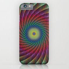 Swirl fractal iPhone 6 Slim Case