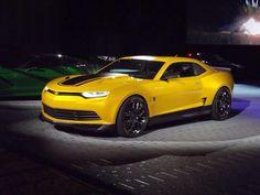 """2014 """"Transformer"""" Bumblebee Chevy Camero"""
