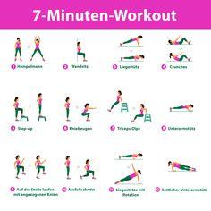 Schnell & effektiv: Das 7-Minuten-Workout