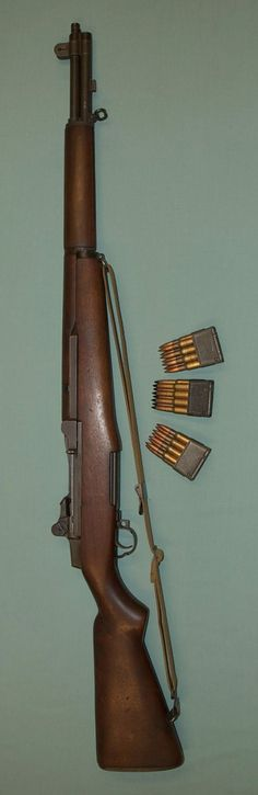Classic M1 Garand service rifle from a site with a lot of nice photos.