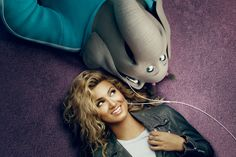 Tori Kelly and her character, Meena, get inspired together. SING is in theaters December 21.