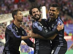 Real Madrid lost to Atletico Madrid but booked their place in the Champions League final