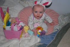 one day at a time: No Candy Easter Basket for a One Year Old