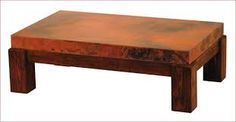 Image result for copper topped coffee tables for sale